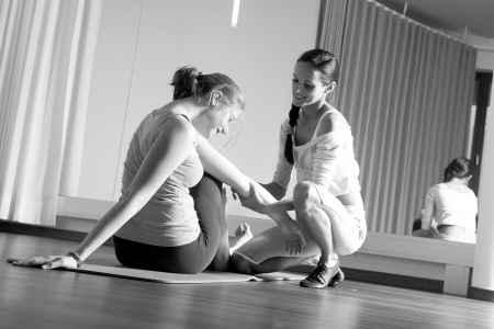 Profesionalität zeigt sich in guten Bildern. Hier eine Physiotherapie Einheit. Foto vom Fotograf Andreas Brandl.