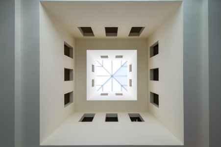 Auf der Kunstreise in das Valle Agredo ist dieses Bild in einem Museum entstanden.