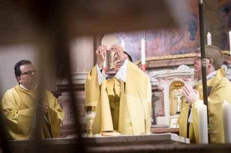 Festgottesdienst in der Michaelskirche in Salzburg mit Korbinian Birnbacher