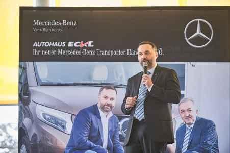 Eröffnung von Mercedes Benz Eckl in Bergland