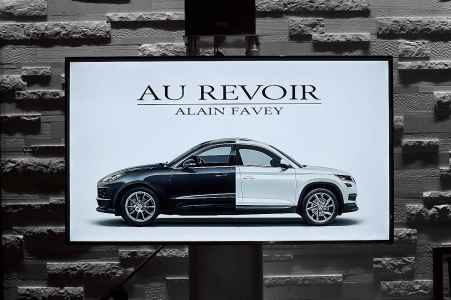 Verabschiedung von Alain Favey aus der Porsche Holding Salzburg beim Döllerer in Golling