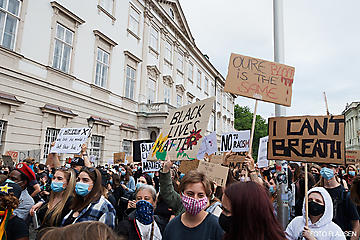 BLACK LIVES MATTER DEMO SALZBURG